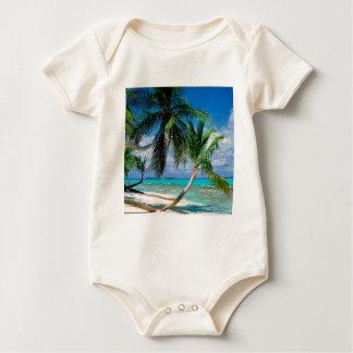 Tropical Island Tepuka Tuvalu Baby Bodysuit