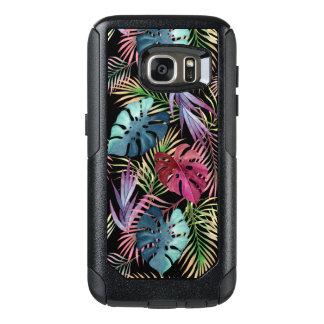 Tropical Jungle Foliage Botanical Pattern OtterBox Samsung Galaxy S7 Case