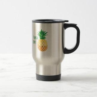 Tropical Love Stainless Steel Travel Mug