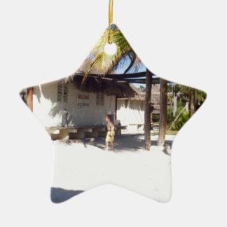 Tropical Mexico Beach Christmas Ornament
