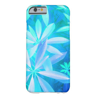 Tropical neon foliage barely there iPhone 6 case