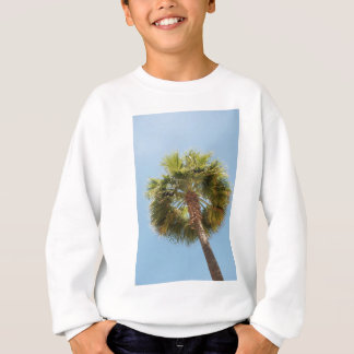 Tropical palm sweatshirt
