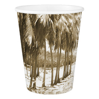 Tropical Palm Trees Vintage
