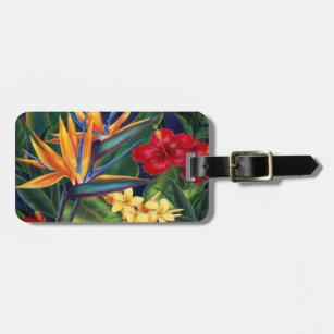 28f3c36cb039 Tropical Paradise Hawaiian Luggage Tags