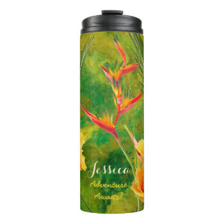 Tropical Paradise Water Bottle Insulated
