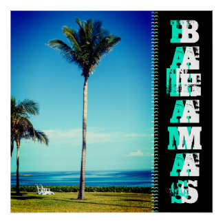 Tropical Place: Bahamas Custom Poster