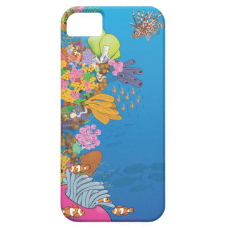Tropical reef wall iPhone 5 case