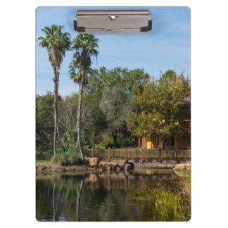 Tropical Springs Paradise Clipboard