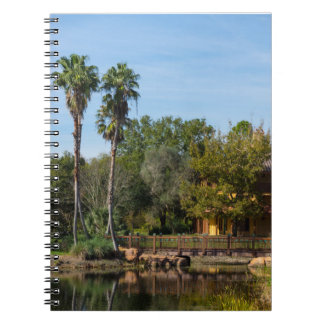 Tropical Springs Paradise Notebooks