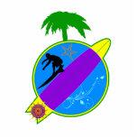 Tropical Surfer.png Photo Sculptures