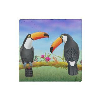 Tropical Toucan Birds Magnet