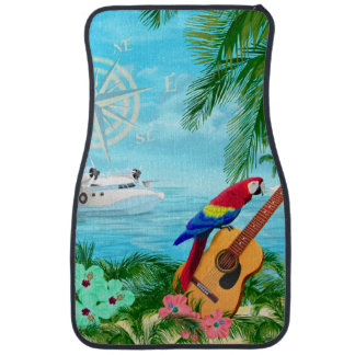 Tropical Travels Car Mat