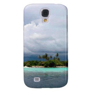 Tropical Treasure Cove Island Galaxy S4 Case