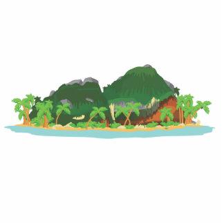 Tropical Treasure Island Standing Photo Sculpture