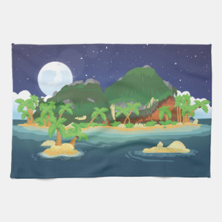 Tropical Treasure Island Towel