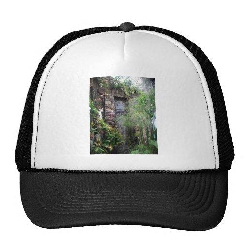 Tropical Waterfall Trucker Hats