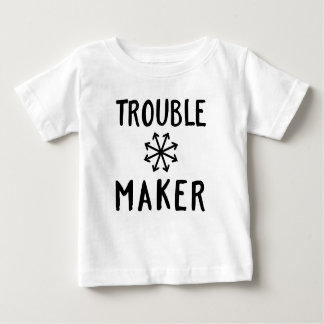 Trouble Maker Chaos Kids T Shirt Baby Clothing