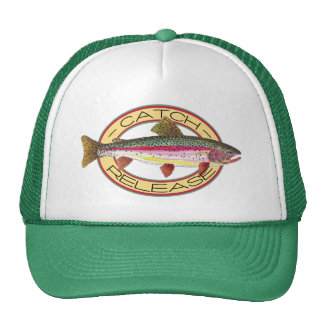 Trout Catch & Release Fishing Cap