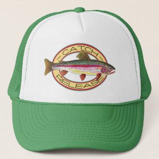 Trout Catch & Release Fishing Trucker Hat