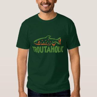 Trout Fisherman Fishing Tshirt