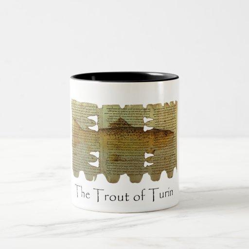 Trout of Turin mug Coffee Mug