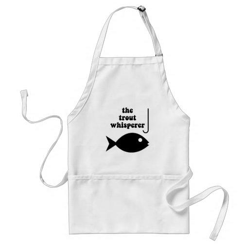 trout whisperer fishing apron