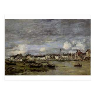 Trouville, the Port by Eugene Boudin Postcard