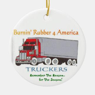 Truck Drivers Remember Ornament