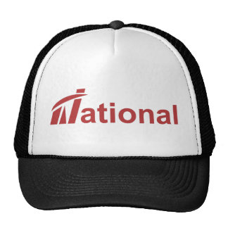 Trucker Hat - Red National