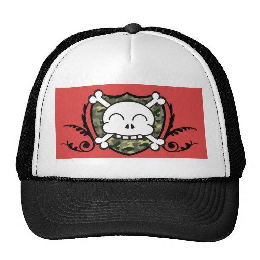 trucker,hunter,pirate mesh hat