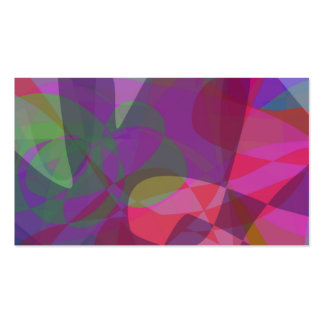 True Abstract Business Card Template