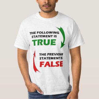 True and False Statements T-Shirt