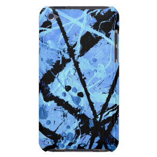 TRUE BLUE!  (an abstract art design) ~ iPod Touch Covers