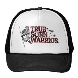 """True born warrior"" Cap"