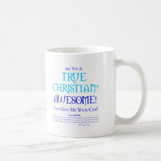 True Christian? Basic White Mug