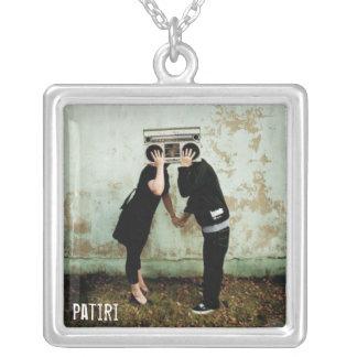 True Love Square Pendant Necklace