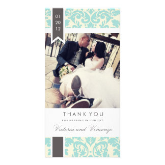 TRUE LOVE | WEDDING THANK YOU PHOTO CARD TEMPLATE