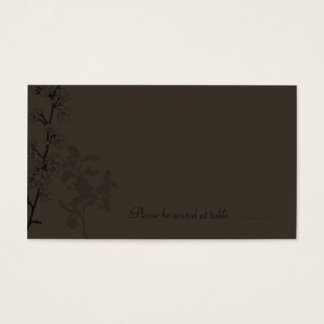 Truffle (Place Card) Business Card