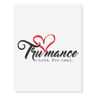 Trumance Temporary Tattoo