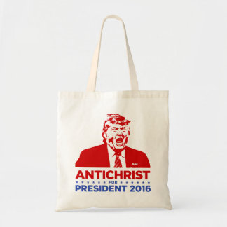 TRUMP ANTICHRIST for PRESIDENT 2016 Tote Bag