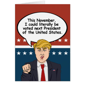 Trump Halloween Card - There are scarier things th