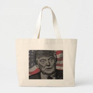 Trump Large Tote Bag