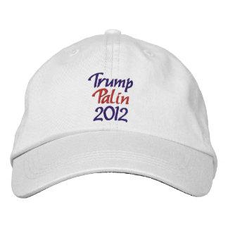 Trump Palin 2012 Embroidered Baseball Cap
