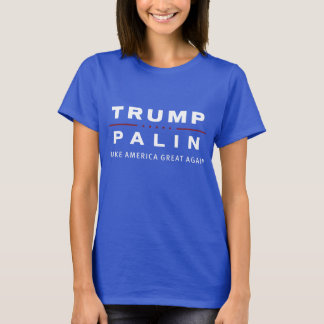 TRUMP/PALIN president 2016 shirt