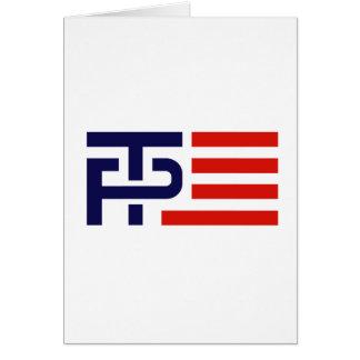 Trump Pence Flag Banner - Card