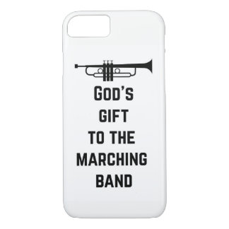 Trumpet: God's Gift to the Marching Band iPhone 8/7 Case