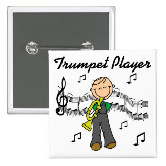 Trumpet Player T-shirts and Gifts Pins
