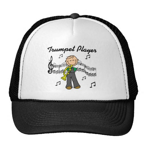 Trumpet Player T-shirts and Gifts Hat