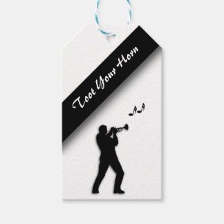 Trumpet Player Toot Your Horn Gift Tags
