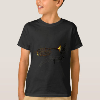 Trumpet Simple Sketch 2 T-Shirt